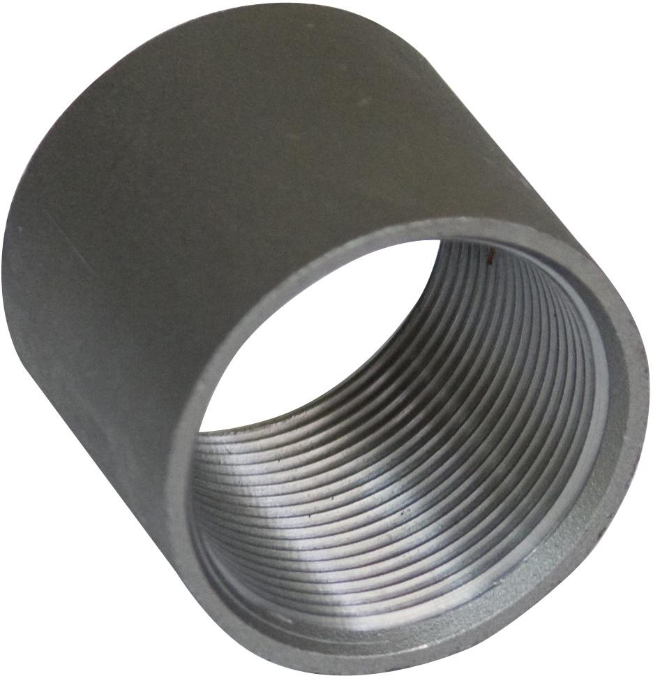 Муфта Ду-15 стальная, оцинкованная
