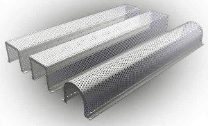 Металлические короба для труб отопления