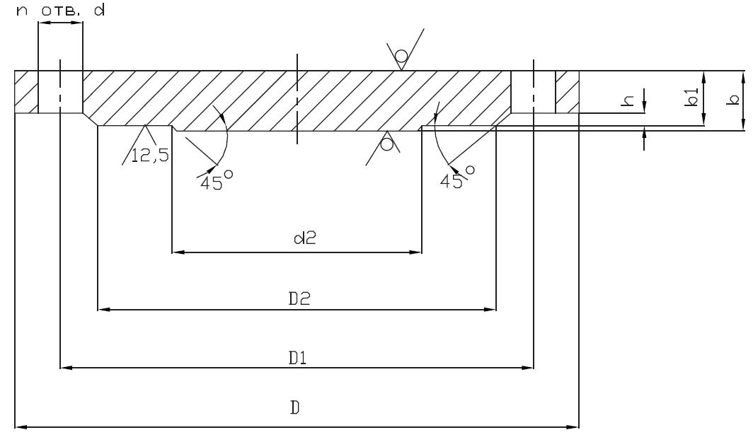 Фланец глухой АТК 24.200.02-90
